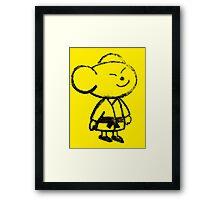 Hashimoto - House Mouse Framed Print