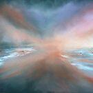 Sea birds in the Mist by Linda Woodward