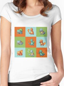 Pokemon - Parallel Universes Women's Fitted Scoop T-Shirt