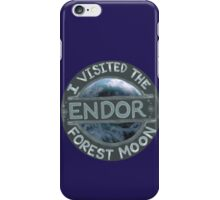 I Visited the Forest Moon Endor iPhone Case/Skin