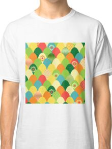 Cute,cool,colorful,egg head,pattern,fun trendy,abstract Classic T-Shirt