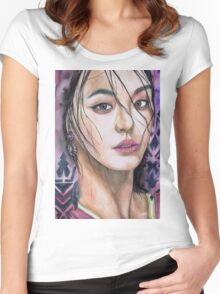 Bora Women's Fitted Scoop T-Shirt