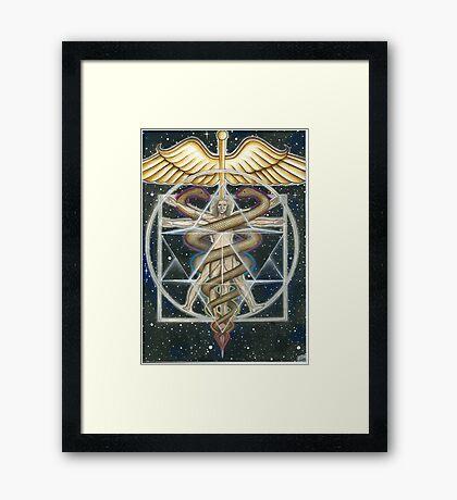 Healing Activation Framed Print