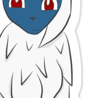 Confused Absol Sticker