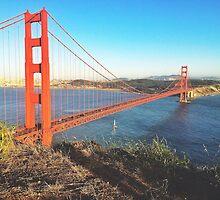 Golden Gate Bridge Afternoon by ProjectSpearman