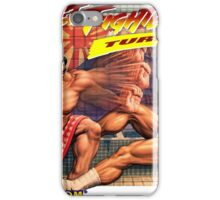 SNES Street Fighter II Turbo cover  iPhone Case/Skin