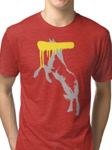 Censored Horse Tri-blend T-Shirt