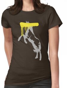 Censored Horse Womens Fitted T-Shirt