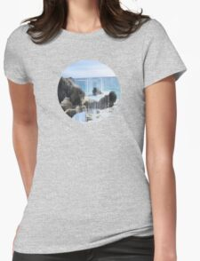 Sorted Wave Womens Fitted T-Shirt