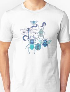 happy frozen blue bugs Unisex T-Shirt
