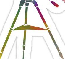 Rainbow Telescope Sticker