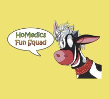Fun Squad Cow One Piece - Short Sleeve