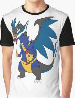 Charizard X cyclops Graphic T-Shirt