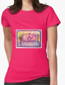 Pigs in Love Womens Fitted T-Shirt