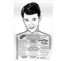 Save Ferris The Righteous Dude Poster