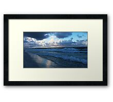 Gulf Shore Sunrise Framed Print
