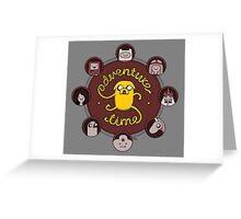 Stretchy Jake Greeting Card