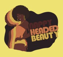 """Nappy Headed Beauty"" One Piece - Short Sleeve"