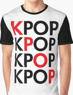 kpop Graphic T-Shirt