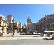 Plaza de la Reina Photographic Print