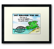 Why Fish Walked on Land Framed Print