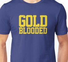 GOLD BLOODED WARRIORS Unisex T-Shirt