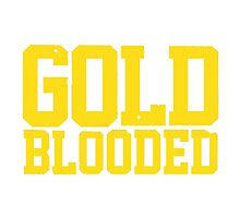 GOLD BLOODED WARRIORS Photographic Print