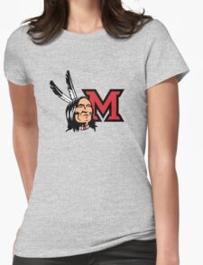 Miami Redskins Womens Fitted T-Shirt