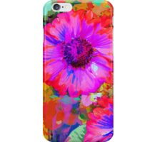The Painter's Flowers iPhone Case/Skin