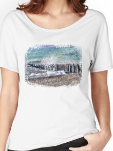 MYSTIC SEA TOTE/PILLOW/CASES/TEE/STICKER/CASES COLLECTION Women's Relaxed Fit T-Shirt
