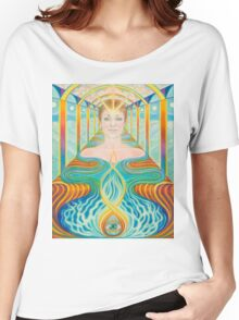 The Temple Women's Relaxed Fit T-Shirt