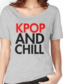 Kpop and Chill Women's Relaxed Fit T-Shirt