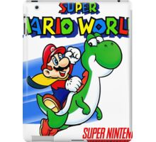 Super Mario World SNES iPad Case/Skin