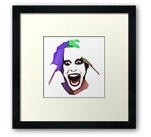 Jared Joker Framed Print