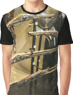 Antique Guns and Medieval Armour Graphic T-Shirt