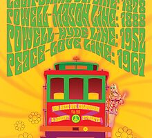 1960's Psychedelic San Francisco Cable Car by Groovy-Frisco