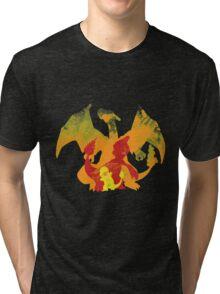 Charmender Evolution Tri-blend T-Shirt