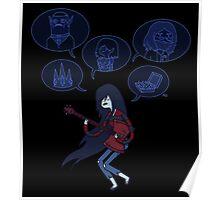 Singing Marceline Poster