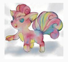 Rainbow Fire Fox (Vulpix) Kids Clothes