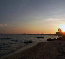 Beach Sunset by Sanguine