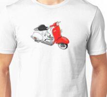 1960 Allstate Scooter Design Unisex T-Shirt
