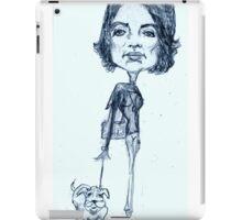 Jackie O on a stylish stroll iPad Case/Skin