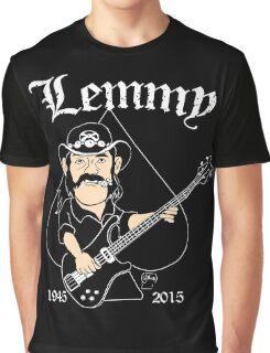 Lemmy Rocks Graphic T-Shirt