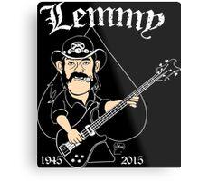 Lemmy Rocks Metal Print