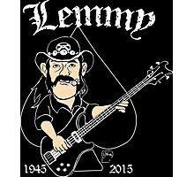 Lemmy Rocks Photographic Print