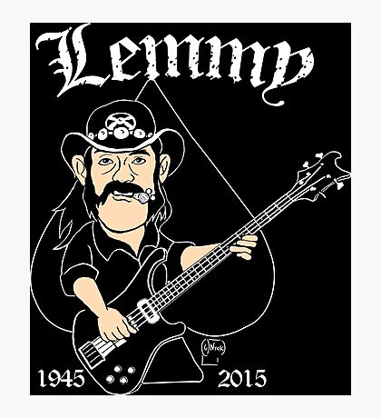 Lemmy Rocks Photographic Print