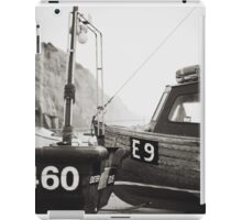 Those boats which lay upon the land. iPad Case/Skin