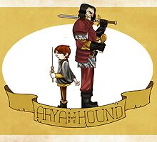 Arya and the Hound by Earl Carpenter III