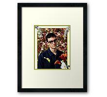Danny L Harle - Flowers Framed Print