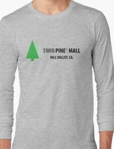 Twin Pines/Lone Pine Mall – BTTF, Optical Illusion Long Sleeve T-Shirt